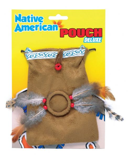 Indian Pouch Native Wild West American Cowboys Fancy Dress Party
